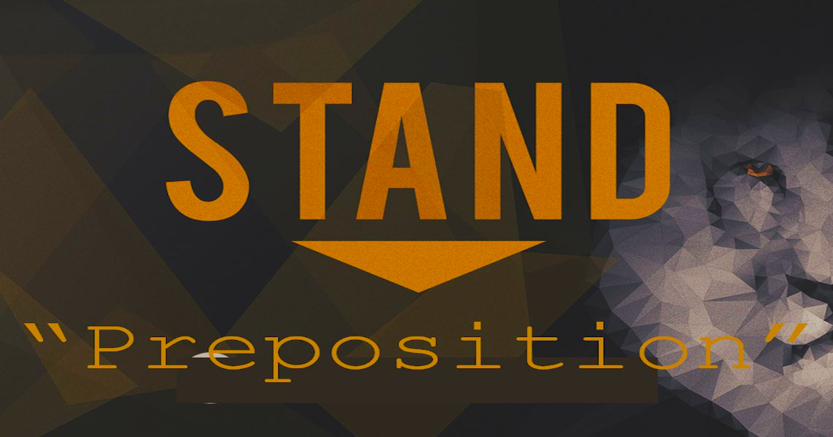Stand – Preposition – Part 2