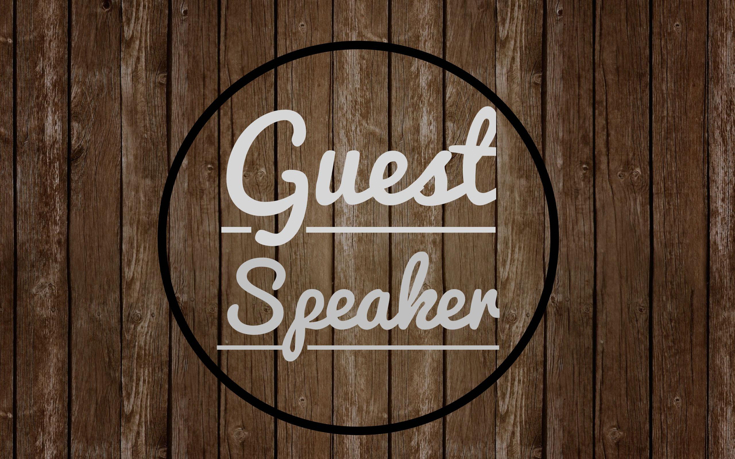 Guest Speaker – Don McKee